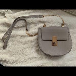 Express Grey Crossbody Bag